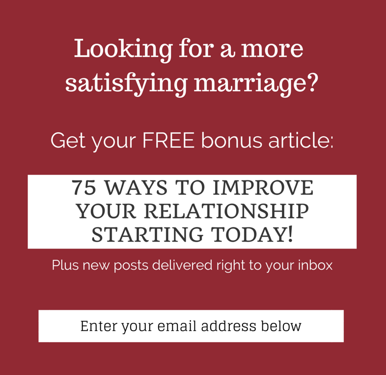 Looking for Practical, Sane and Effective Marriage Advice ...